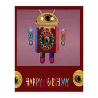 ANDROID Robot Alien Warrior Letterhead