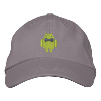 Android Robot Formal Gala Bowtie Embroidery Embroidered Hats