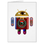 ANDROID Robot Greeting Card