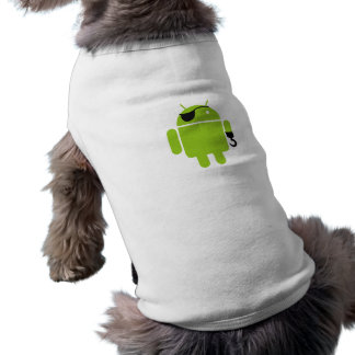 Android Robot Icon as a Pirate Tee