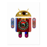 ANDROID Robot Postcard