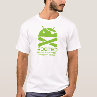Android Rooted T-Shirt