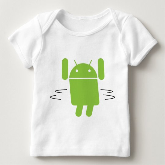 Android – Shake your booty Baby T-Shirt