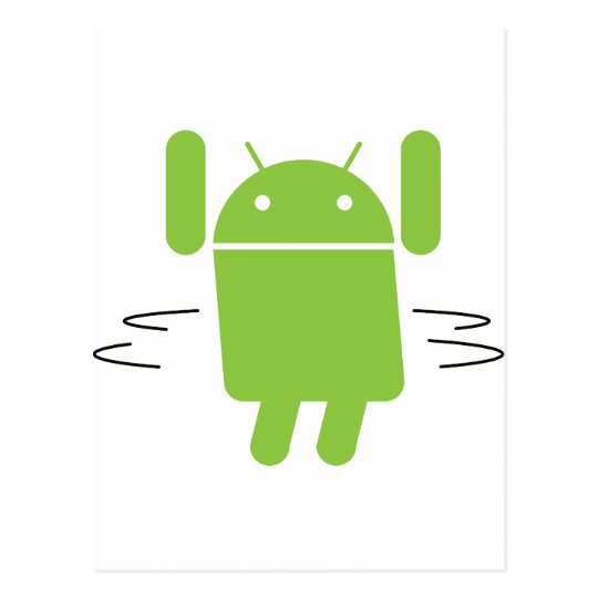 Android – Shake your booty Postcard