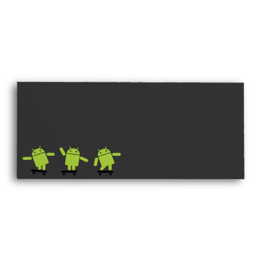 Android Skateboarding Envelope