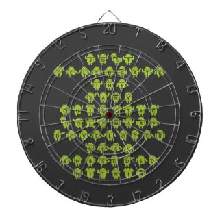Android Software Developer Robot Font (Upper Case) Dartboard