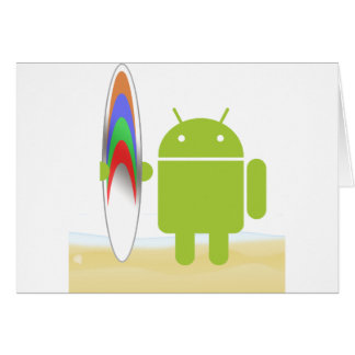 Android Surfer Card