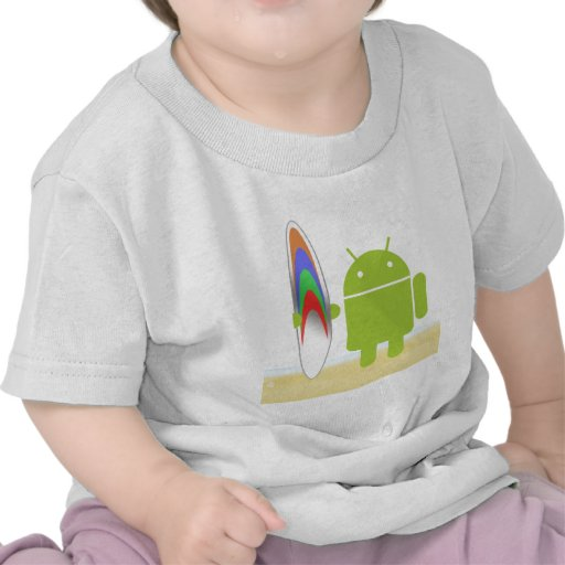 Android Surfer T-shirt