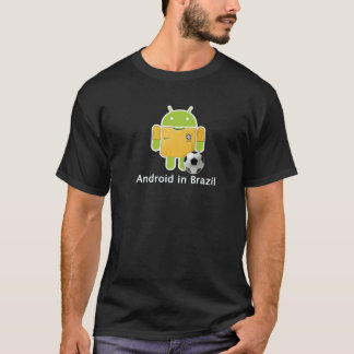 Android t-shirt in Brazil
