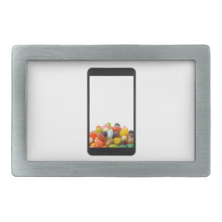 Android tablet with jelly bean belt buckle