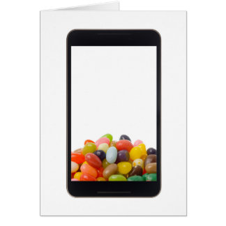 Android tablet with jelly bean card