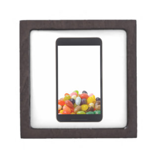 Android tablet with jelly bean jewelry box