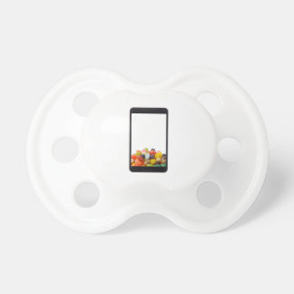 Android tablet with jelly bean pacifier