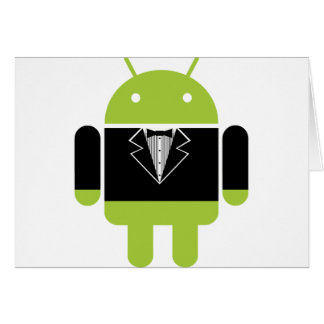 Android Tux Card