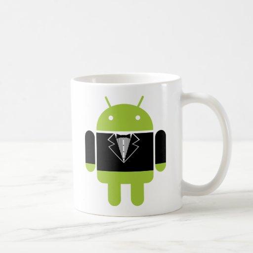 Android Tux Classic White Coffee Mug
