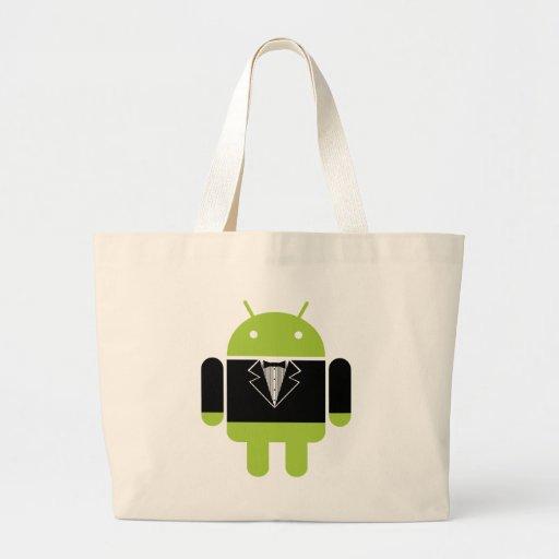 Android Tux Jumbo Tote Bag