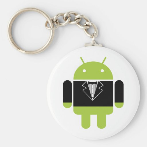 Android Tux Key Chains