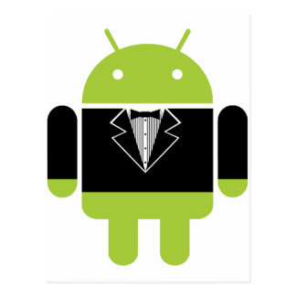 Android Tux Postcard