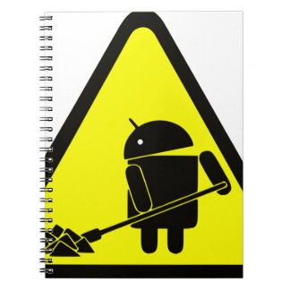 Android under construction notebook