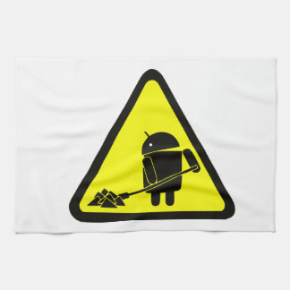 Android under construction towels