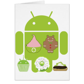 Android Versions Card