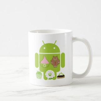 Android Versions Coffee Mug