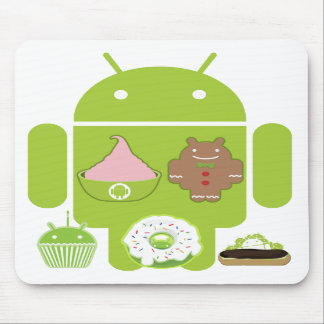 Android Versions Mouse Pad