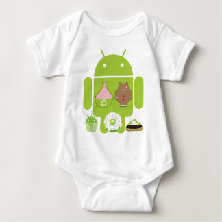 Android Versions T Shirts