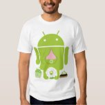 Android Versions Tee Shirt