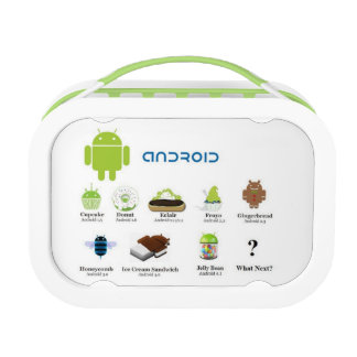 Android Versions (The Story) Yubo Lunch Box