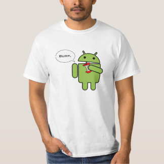 Android vs. Apple, and the winner is Tshirts