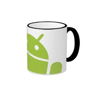 Android Waving Ringer Coffee Mug