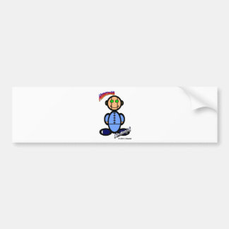Android (with logos) bumper sticker