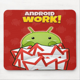 Android Work Mouse pad