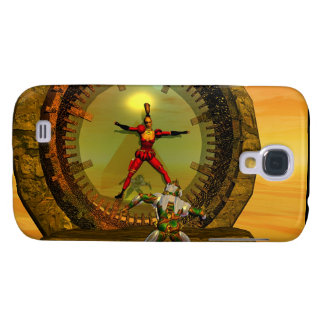 ANDROID XENIA MEETS TITAN Science Fiction Galaxy S4 Cover