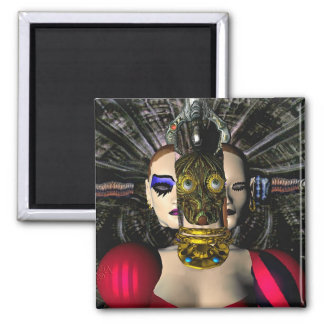 ANDROID XENIA SPACESHIP PILOT REFRIGERATOR MAGNETS