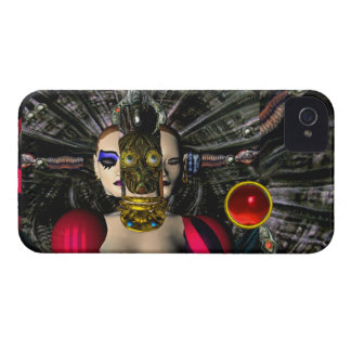 ANDROID XENIA SPACESHIP PILOT,Science Fiction iPhone 4 Case-Mate Cases