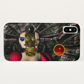 ANDROID XENIA SPACESHIP PILOT,Science Fiction iPhone X Case