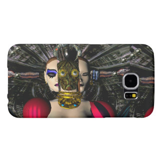 ANDROID XENIA SPACESHIP PILOT,Science Fiction Samsung Galaxy S6 Case