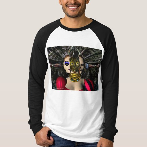 ANDROID XENIA SPACESHIP PILOT,Science Fiction T-Shirt