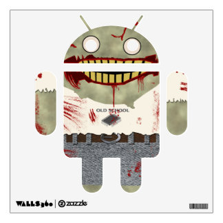 Android Zombie Wall Sticker