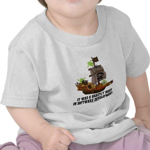Androide a la noche horrible en el desarrollo de p camisetas