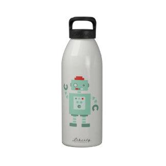 Androide Botella De Agua Reutilizable
