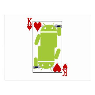 Androide de corazones postales