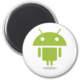 Androide de encargo imán redondo 5 cm