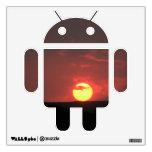 Androide de la puesta del sol