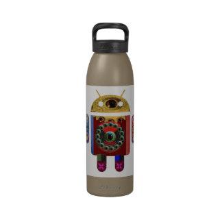 ANDROIDE de Navin Joshi Botellas De Agua Reutilizables