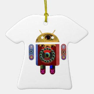 ANDROIDE de Navin Joshi Adorno De Cerámica En Forma De Camiseta