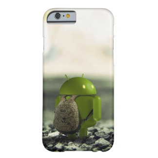 androide del adiós del iphone 6 funda de iPhone 6 barely there