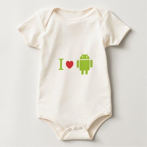 Androide del corazón I Trajes De Bebé